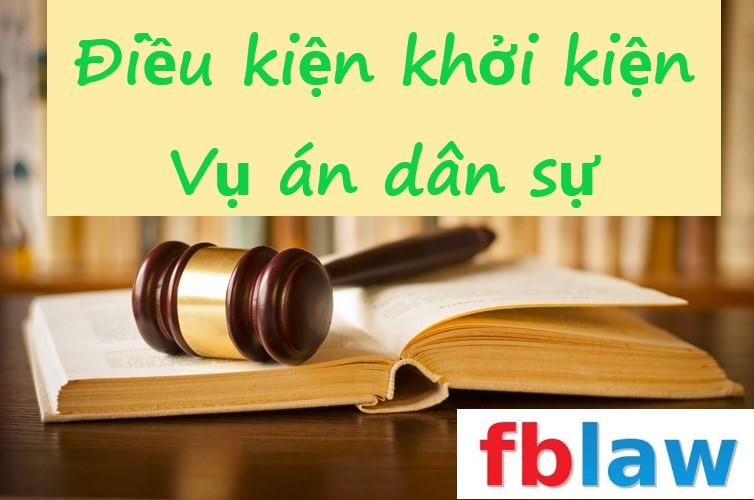 Điều kiện khởi kiện vụ án dân sự theo quy định của pháp luật