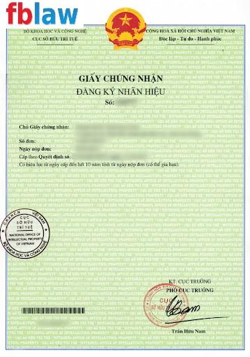 đăng ký bảo hộ nhãn hiệu tại Vinh, Nghệ An - FBLAW 5