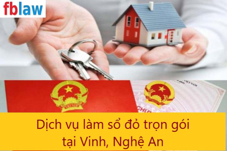 Dịch vụ làm sổ đỏ trọn gói tại Vinh, Nghệ An - fblaw