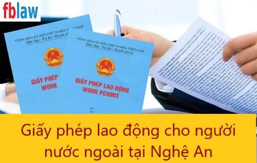 giấy phép lao động cho người nước ngoài tại Nghệ An - FBLAW 3