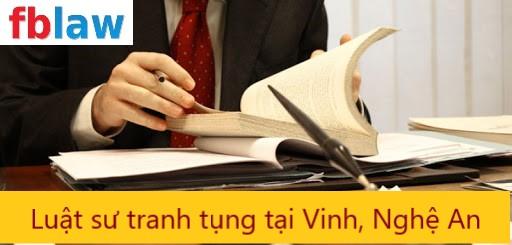 luật sư tranh tụng tại Vinh, Nghệ An - fblaw