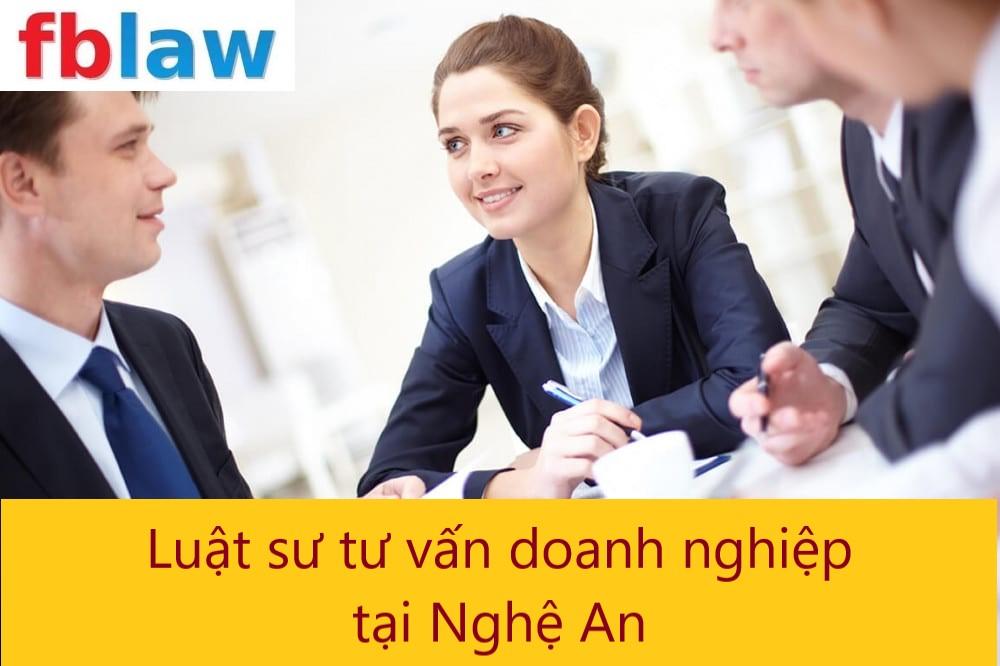 luật sư tư vấn doanh nghiệp tại Nghệ An - FBLAW