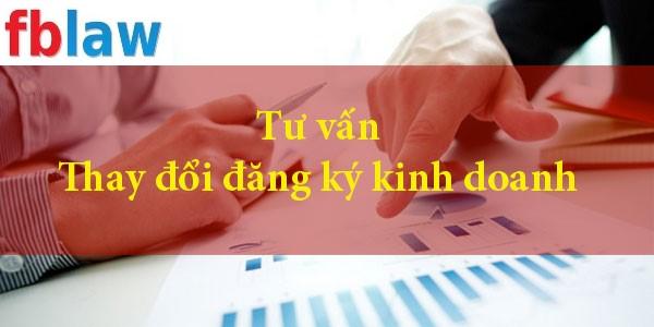 thay đổi đăng ký kinh doanh tại vinh, nghệ an - fblaw