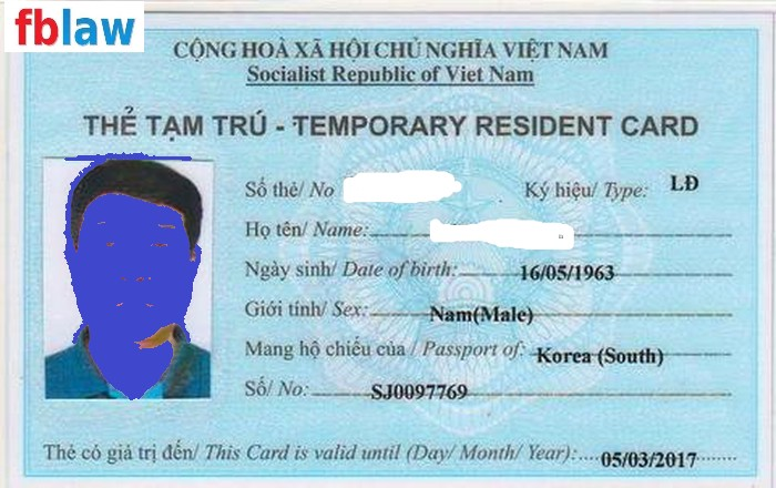 thủ tục cấp thẻ tạm trú cho người nước ngoài tại Nghệ An 2 - FBLAW