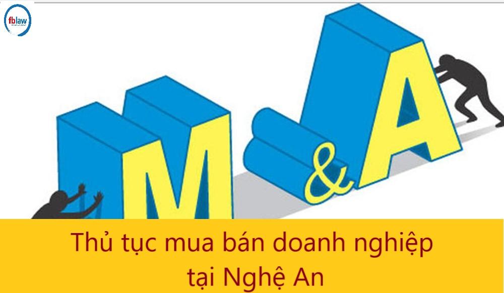 thủ tục mua bán doanh nghiệp tại Nghệ An - công ty Luật FBLAW 1