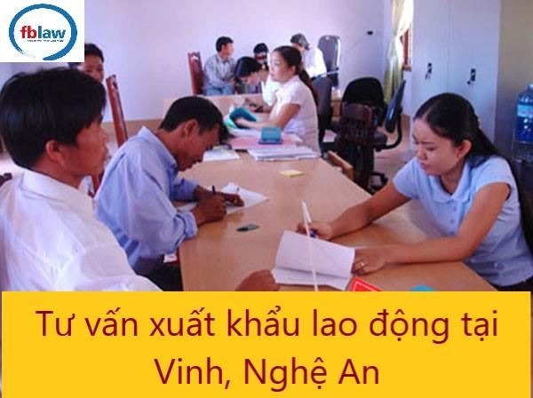 tư vấn xuất khẩu lao động tại Vinh, Nghệ An - Công ty Luật FBLAW