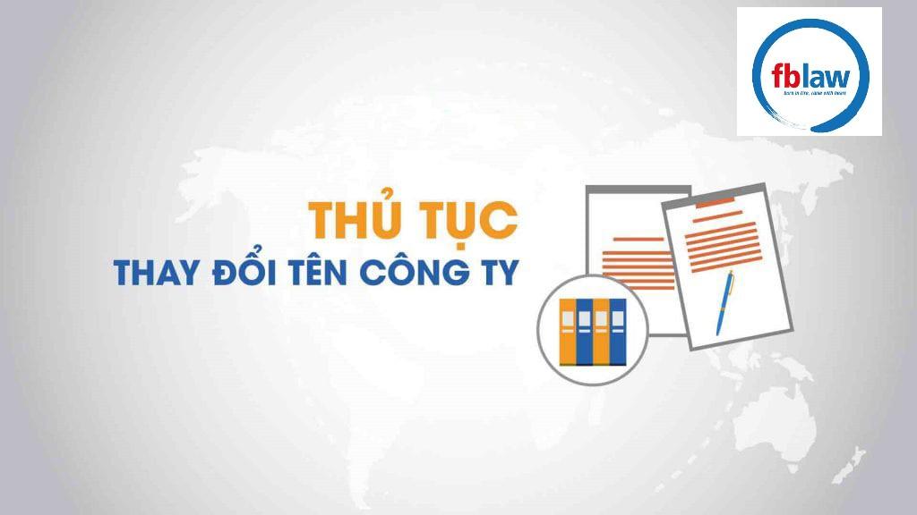 thay đổi tên doanh nghiệp tại Nghệ An - fblaw