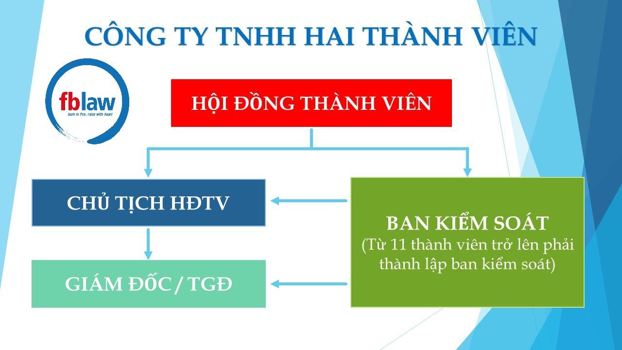 Cơ cấu tổ chức của Công ty TNHH hai thành viên trở lên