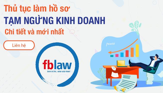 Hướng dẫn thủ tục tạm dừng kinh doanh mới nhất hiện nay fblaw