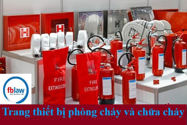 Kinh doanh dịch vụ phòng cháy và chữa cháy