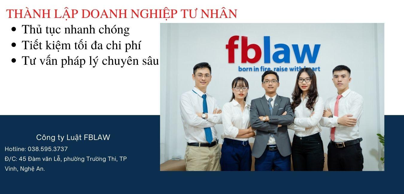Dịch vụ thành lập doanh nghiệp tư nhân mới nhất