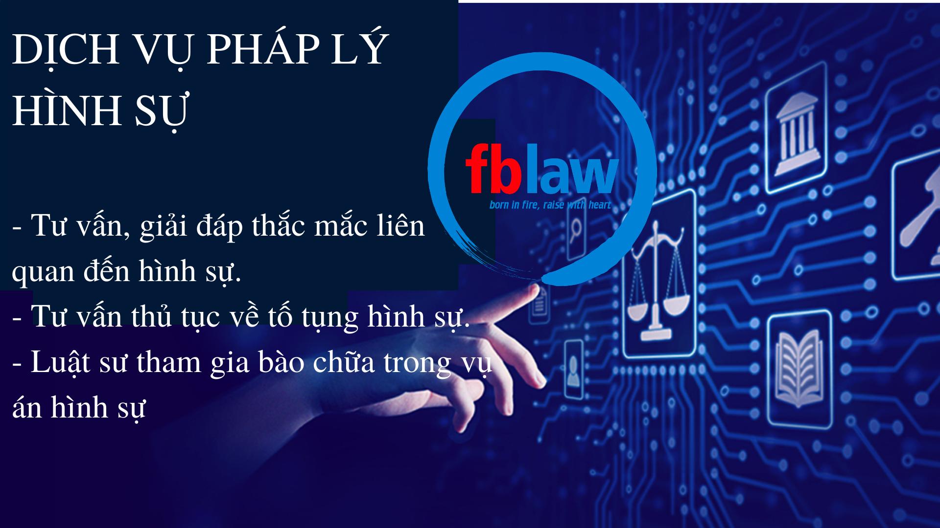 Tư vấn pháp luật về hình sự