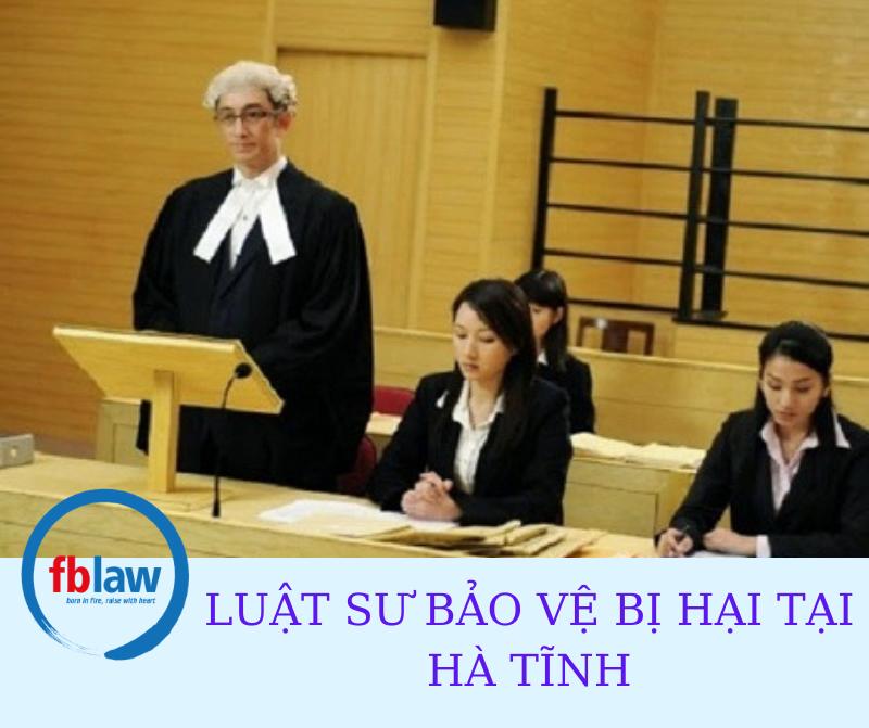 Luật sư bảo vệ bị hại tại Hà Tĩnh