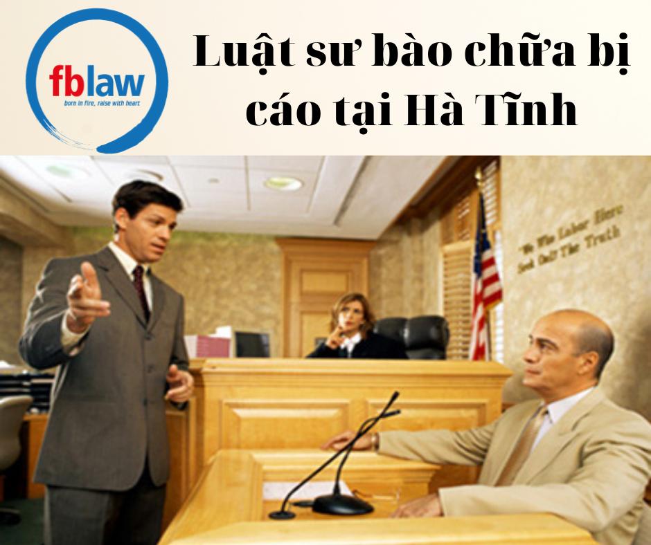 Luật sư bào chữa bị cáo tại Hà Tĩnh