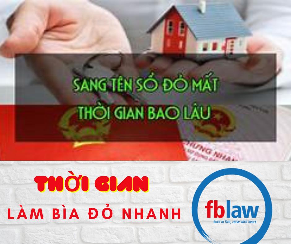Làm bìa đỏ tại Hà Tĩnh trong thời gian bao lâu?