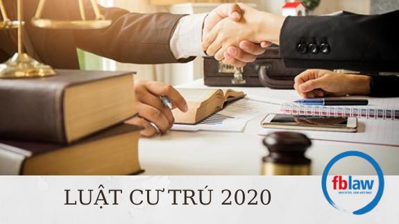 Luật cư trú 2020 mới nhất