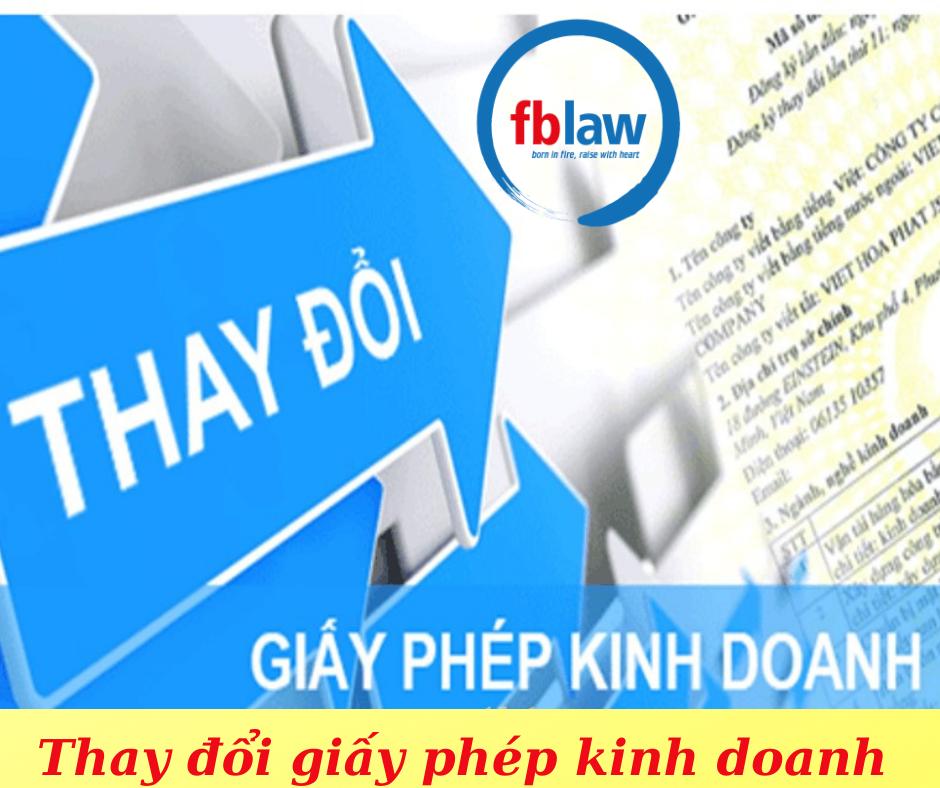 Thay đổi giấy phép đăng ký kinh doanh tại Nghệ An