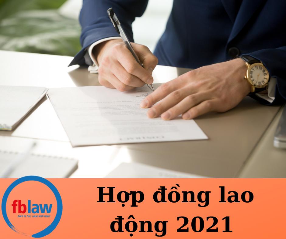 Hợp đồng lao động năm 2021