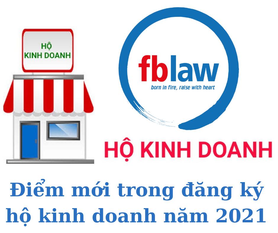 Điểm mới về đăng ký hộ kinh doanh năm 2021